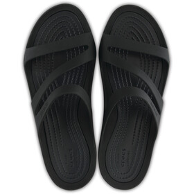 Crocs Swiftwater Sandalen Dames, black/black